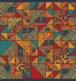 boho seamless wallpaper vector image vector image
