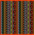 geometrical ethnic motifs background vector image vector image