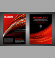 grunge tire poster set vector image vector image