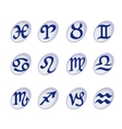 Horoscope signs and symbols vector image