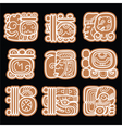 Mayan glyphs writing system and languge design