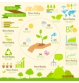 Nature Infographics vector image vector image