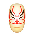 Traditional Japan Mask Kabuki vector image vector image