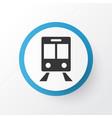 train icon symbol premium quality isolated vector image vector image