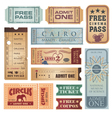 Vintage tickets vector | Price: 1 Credit (USD $1)