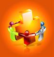 health care icon vector image