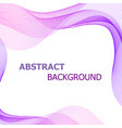 abstract background with pink and purple lines vector image