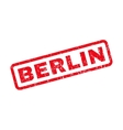 Berlin Rubber Stamp vector image vector image