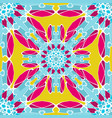 color tribal vintage seamless pattern vector image vector image