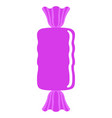 isolated sweet candy icon vector image vector image