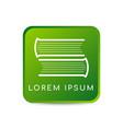 letter s book logo design template vector image