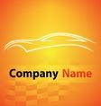 logo garage auto motor car vector image