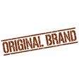 original brand stamp vector image vector image
