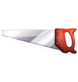 A saw vector image vector image
