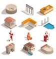 ancient rome isometric set