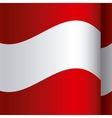 background color with waving flag of austria vector image vector image