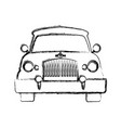 car transportation vehicle vector image vector image