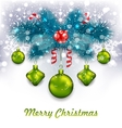 Christmas Traditional Decoration vector image vector image
