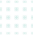 cube icon pattern seamless white background vector image vector image