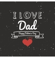 father day label vector image