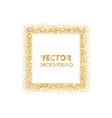 festive golden sparkle background glitter border vector image vector image