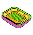 football stadium icon icon cartoon vector image vector image