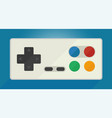 gamepad for old game consoles vector image