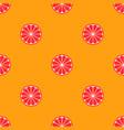 orange fruit seamless bright art pattern vector image vector image