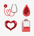 set hemophilia day to community treatment vector image vector image