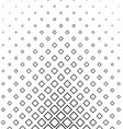Abstract monochrome line square pattern vector image vector image