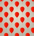 Background for red balloons