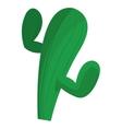 cactus cartoon icon vector image
