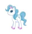cute horse princess vector image