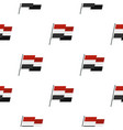 egyptian wavy flag pattern seamless vector image vector image