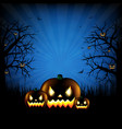 Hallooween party poster vector image