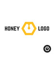 Honey logo with abstract sign