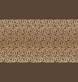leopard print pattern seamless pattern leopard vector image