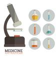 Medicine design vector image vector image