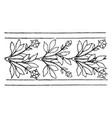 modern border undulate band is a wavelike design vector image vector image