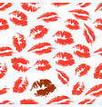 print of lipstick vector image vector image