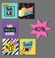 special offer big sale flayer vector image vector image