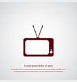 Tv icon simple