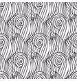 wavy pattern handmade doodle wave seamless vector image vector image