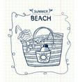 summer gear vector image