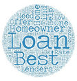 Best Homeowner Loans Perfect Package for vector image vector image