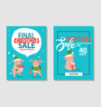 christmas sale to 40 percent off holiday discount vector image vector image