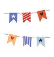 cute colorful circus tent on white background vector image