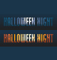 halloween night backgrounds vector image vector image