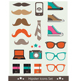HipsterIcons vector image