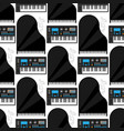 keyboard musical instruments classical vector image vector image